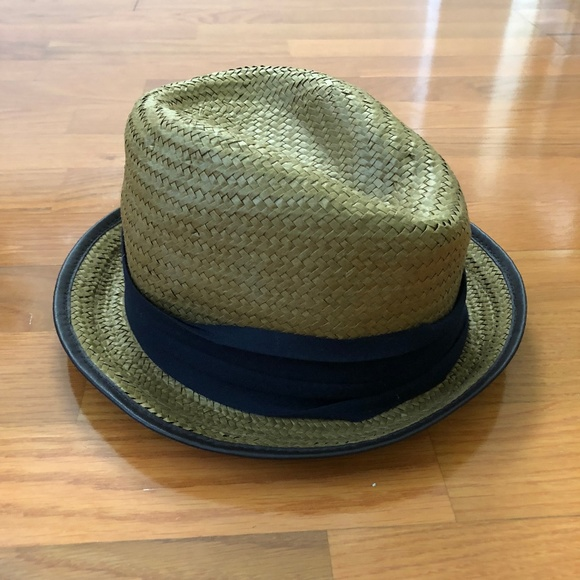 148f0790 Zara Accessories | Man Straw Summer Fedora Hat | Poshmark
